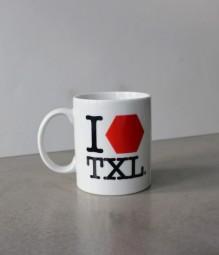I LOVE TXL Kaffeetasse