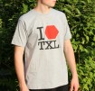I LOVE TXL T-Shirt, grey