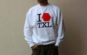 I LOVE TXL Sweatshirt, white